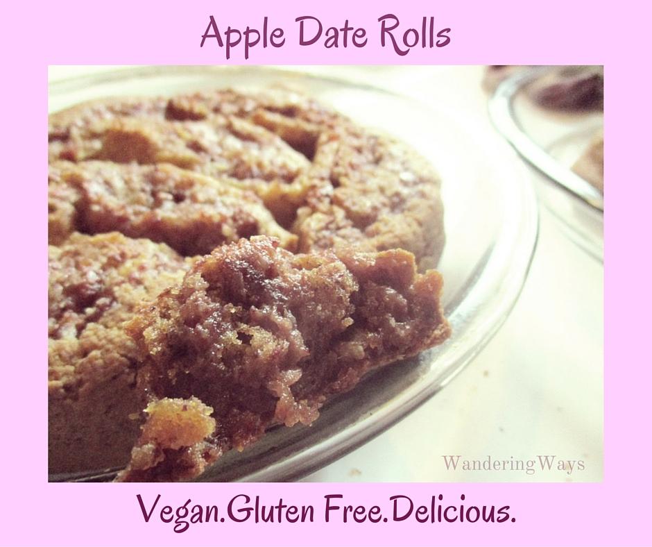 Apple Date Rolls